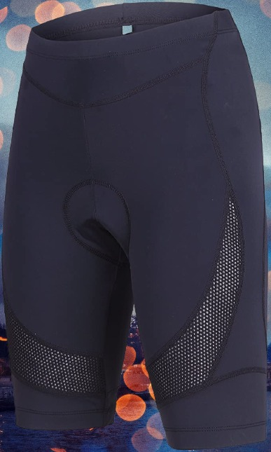 Beroy Women's Bike Shorts with 3D Gel