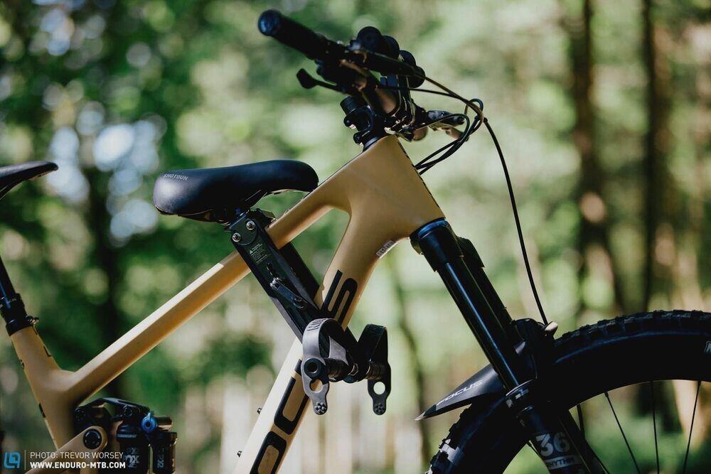 SHOTGUN Kids Bike Seat for Mountain Bikes