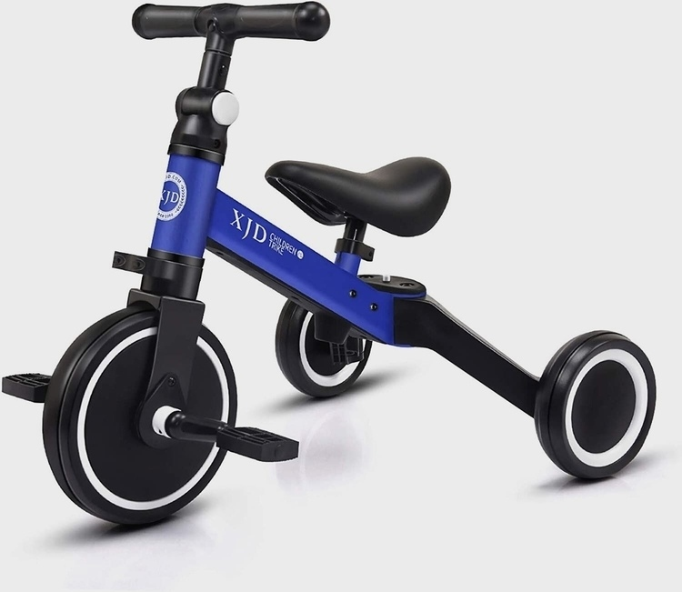 XJD 3 in 1 Kids' Tricycles for 1-3 Years Old Kids